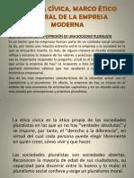 La Ética Cívica Diapositivas