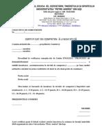 Metodologie Certificat de Competenta Lingvistica