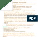 Medicație În Oftalmologie