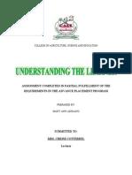 Understanding the Learner Nov 16