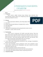 Laporan Pendahuluan Kista Ovarium