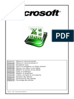 Fiche Formation Excel 2007