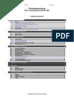 PTM-Formelsammlung