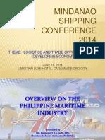 Mindanao Shipping Conference - Emmanuel Carpio