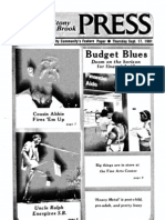 The Stony Brook Press - Volume 3, Issue 2