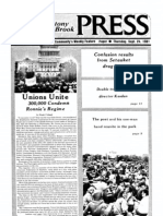 The Stony Brook Press - Volume 3, Issue 3
