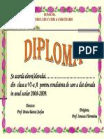 DIPL. STRADUINTA 2009