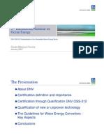 2nd International Seminar on Ocean Energy