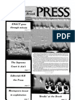 The Stony Brook Press - Volume 3, Issue 6