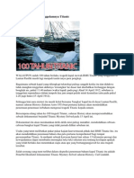 Merungkai Misteri Tenggelamnya Titanic