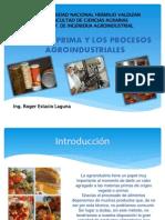 Materia Prima y Los Procesos Agroindustriales