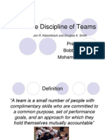 The Discipline of Teams[1]
