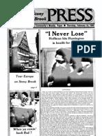 The Stony Brook Press - Volume 3, Issue 13