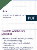 Datawarehoussing