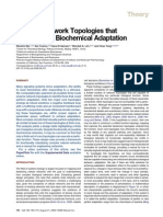Defining Network Topologies that Can Achieve Biochemical Adaptation