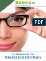 Gleitsichtbrillen Ratgeber