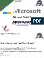 70-410 Study Exam