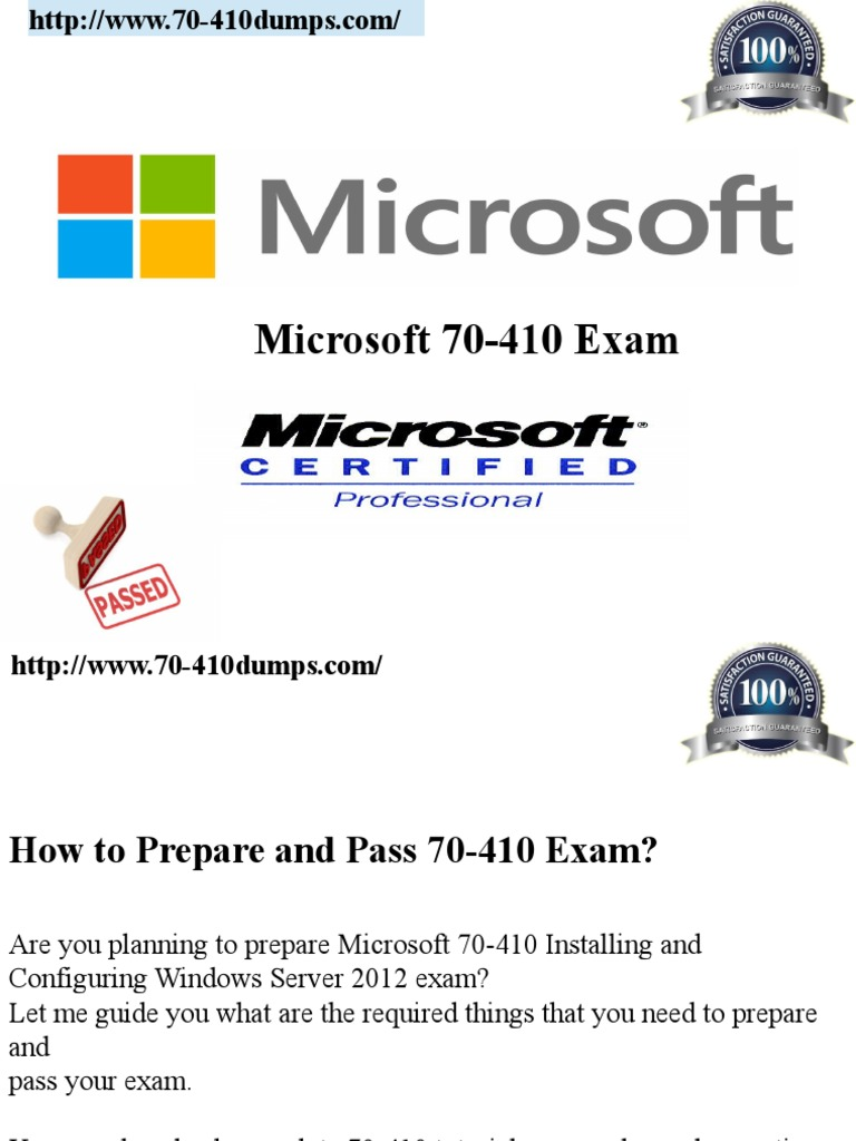 70 410 Study Exam Active Directory Firewall Computing