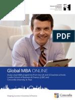 MBA Online Concordia