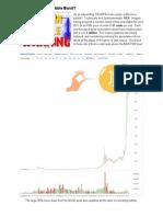 Has Bitcoins Bubble Burst