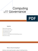 Cloud Computing - Introduction & Governance