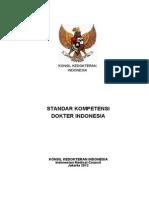 Tandar Kompetensi Dokter Indonesia