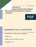 Clasificacion Ao Segun Localizacion Anatomica de Las Fracturas 1