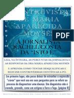 Maria Aparecida Afonso Moisés - Entrevista-IsTO-E