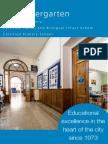 Brochure Kindergarten - English version