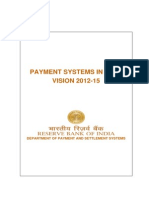 Payment System in India Vision 2015 RBI