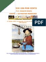 18 Pautas Musicais, Prof. Joaquim Roque, Alentejo Cem por Cento