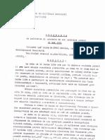 Exemplu 1 scoatere de sub urmarire penala - demonstranti iunie 1990