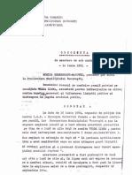 Exemplu 3 scoatere de sub urmarire penala - demonstranti iunie 1990