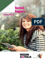 Mission Australia Youth Survey Mental Health Report June 2014