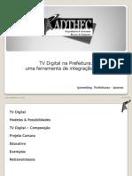 TV Digital Na Prefeitura_uma Ferramenta de Integração Social