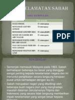 Isu Keselamatan Sabah