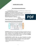 Instr - Resumen Tema 1 Introducción a La Instrumentación Electrónica.