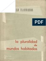 FLAMMARION Camille - Pluralidad de Mundos Habitados