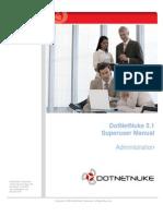 DotNetNuke 5 1 x Super User Manual