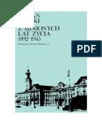 Kulski, Julian - Z Minionych Lat Życia 1892-1945 – 1982 (Zorg)