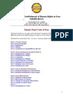 Islamic Penal Code of Iran