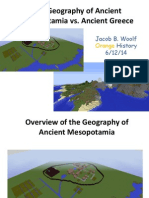 jbwoolf geography of mesop vs  greece