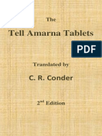 The Tell Amarna Tablets - Translated by C. R. Conder - 2nd Ed. (1894)