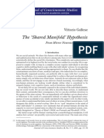 The Shared Manifold Hypothesis - From Mirror Neurons to Empathy