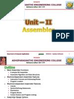 Ss Unit-iiassembler 2007