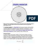 Antenna - Description of Antenna 01 Isotropic (Theoretical Radiator) (by Larry E. Gugle K4RFE)