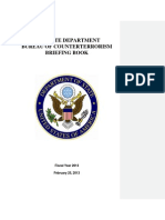U.S. State Department Bureau of Counterterrorism briefing book