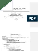Counter-trafficking in Latin America