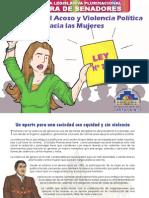 Cartilla Nº 1 Ley Contra El Acoso y Violencia Política Hacia Las Mujeres