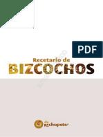 Recetario de Bizcochos [de Rechupete] - Alfonso López